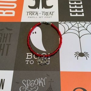 Bat charm bracelet